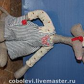 Куклы и игрушки ручной работы. Ярмарка Мастеров - ручная работа первый мышь на деревне. Handmade.