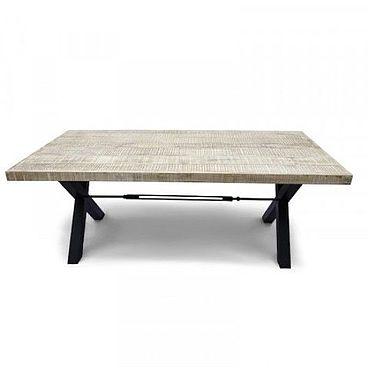 Мебель ручной работы. Ярмарка Мастеров - ручная работа Стол лофт из массива, ДХАТУ ДХАВАЛ большой. Handmade.