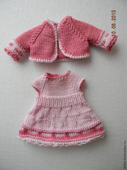 Одежда для кукол ручной работы. Ярмарка Мастеров - ручная работа. Купить Костюмчик на куколку 14-15 см. Handmade.
