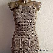 Одежда ручной работы. Ярмарка Мастеров - ручная работа Золотое платье. Handmade.