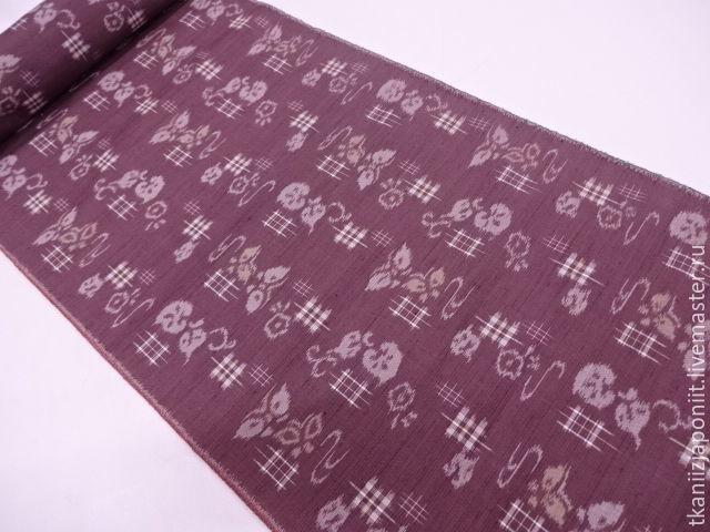 """Шитье ручной работы. Ярмарка Мастеров - ручная работа. Купить Японский шелк """"Глубокий пурпурно-красный"""". Handmade. Шелк"""