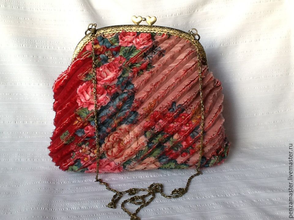 купить сумку из павлопосадских платков