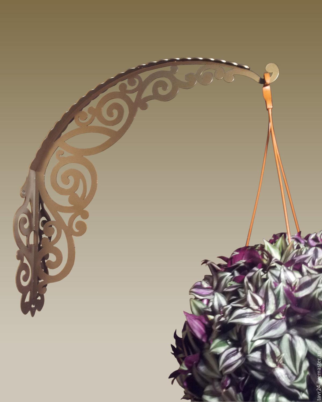 Bracket for hanging flowers 'Azhur 490', Pendants for pots, St. Petersburg,  Фото №1