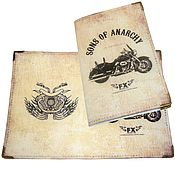 Канцелярские товары handmade. Livemaster - original item Passport cover, cover papers, series