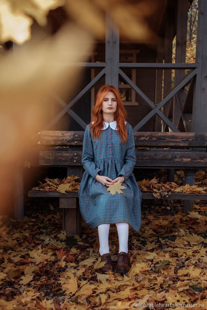 Linen dress Wonderland, Dresses, Tver,  Фото №1