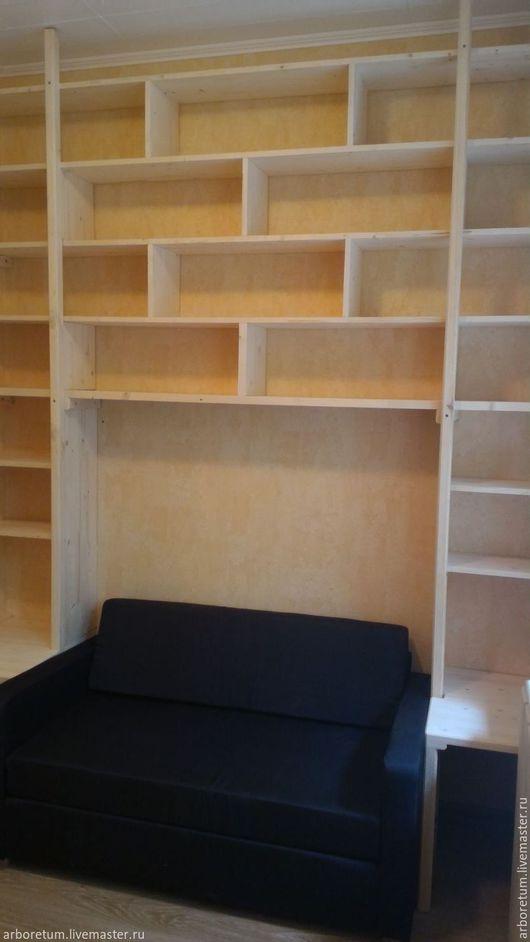 Мебель ручной работы. Ярмарка Мастеров - ручная работа. Купить Книжный стеллаж/шкаф. Handmade. Комбинированный, мебель из массива, мебель для детской