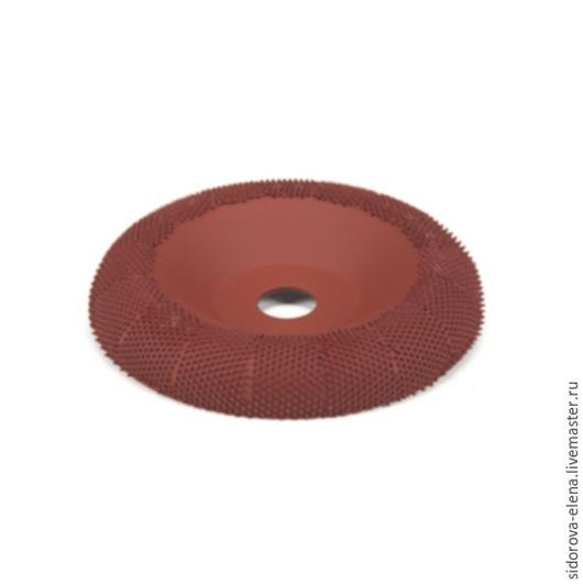 Другие виды рукоделия ручной работы. Ярмарка Мастеров - ручная работа. Купить Рашпильный диск для болгарки выпуклый средний. Handmade.