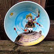 """Посуда ручной работы. Ярмарка Мастеров - ручная работа Набор """"Маленький принц"""". Handmade."""
