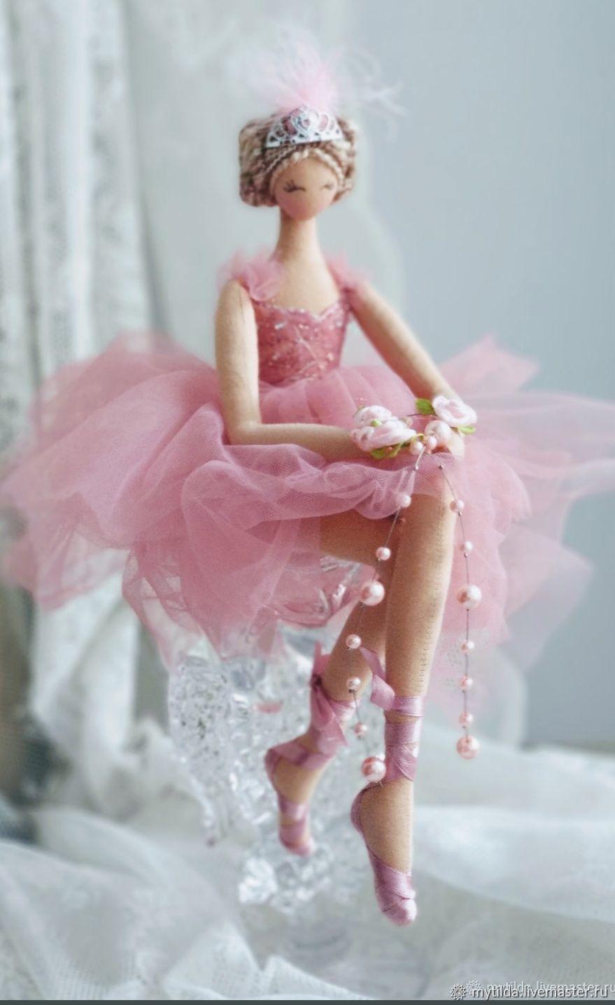 Балерина Розовая Нежность, Куклы и пупсы, Сосновый Бор,  Фото №1