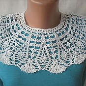 Аксессуары handmade. Livemaster - original item Large openwork collar