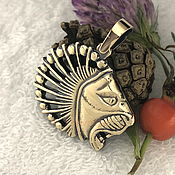 Фен-шуй и эзотерика handmade. Livemaster - original item Scythian lion amulet talisman amulet made of metal. Handmade.