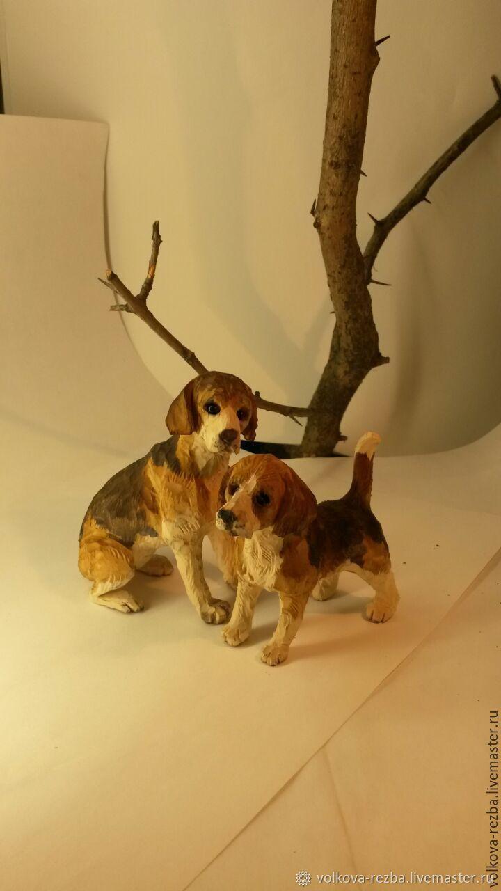 Собачки(бигль), Мини фигурки и статуэтки, Москва,  Фото №1