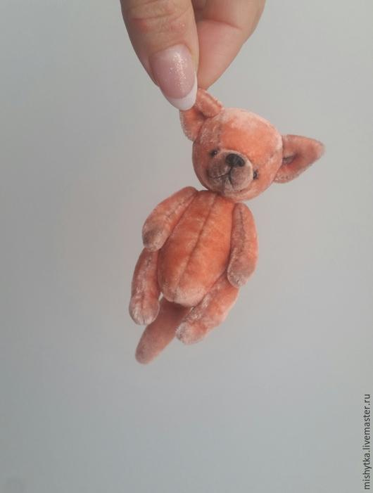 Мишки Тедди ручной работы. Ярмарка Мастеров - ручная работа. Купить Лисёнок. Handmade. Рыжий, маленькая игрушка, лисичка