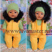 Куклы и игрушки ручной работы. Ярмарка Мастеров - ручная работа Жилетка  для куклы беби бон. Handmade.
