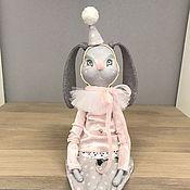 Куклы и игрушки ручной работы. Ярмарка Мастеров - ручная работа Интерьерная кукла Кролик клоун. Handmade.