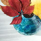 Для дома и интерьера ручной работы. Ярмарка Мастеров - ручная работа Синий малахит. Handmade.