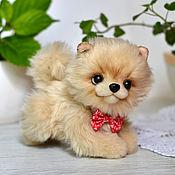 Куклы и игрушки handmade. Livemaster - original item Pomeranian puppy Button. Handmade.
