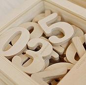 """Куклы и игрушки ручной работы. Ярмарка Мастеров - ручная работа """"Учимся считать"""", обучающие материалы, развивающие игрушки, из дерева. Handmade."""