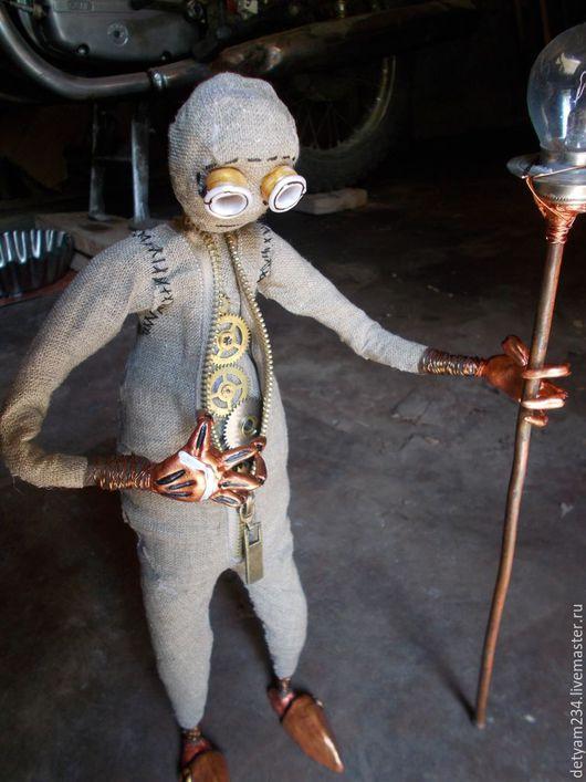 Коллекционные куклы ручной работы. Ярмарка Мастеров - ручная работа. Купить Кукла из мультфильма 9. Handmade. Коричневый, кукла интерьерная