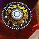 """Мебель ручной работы. Столик """" Лимончики-3"""". ArtFlat. Интернет-магазин Ярмарка Мастеров. Витражная роспись"""