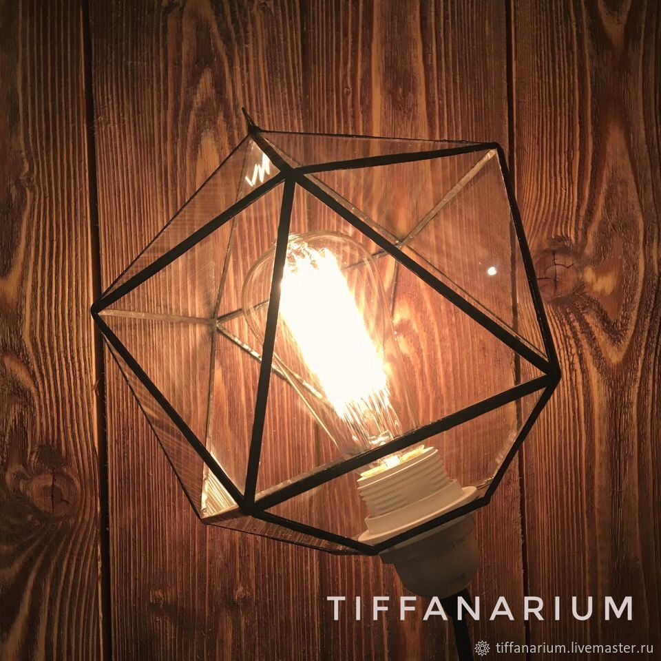 The lamp in the loft 'Icosahedron' Kratos, Ceiling and pendant lights, Magnitogorsk,  Фото №1
