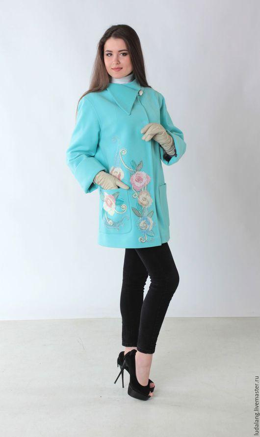 Верхняя одежда ручной работы. Ярмарка Мастеров - ручная работа. Купить Пальто в стиле 60-х Ницца (Русский фасон). Handmade.