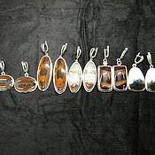 Украшения ручной работы. Ярмарка Мастеров - ручная работа Агатовые серьги. Handmade.