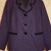 Одежда винтажная ручной работы. Ярмарка Мастеров - ручная работа Винтажный Пиджак   52-54 размер 90-е. Handmade.