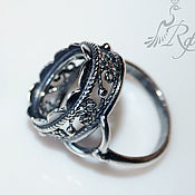 Материалы для творчества handmade. Livemaster - original item The basis for the ring