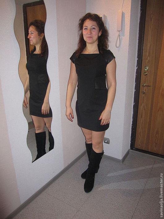 Платья ручной работы. Ярмарка Мастеров - ручная работа. Купить Маленькое чёрное платье. Handmade. Черный, офисный стиль