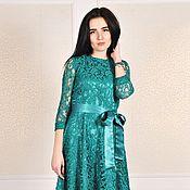 Одежда ручной работы. Ярмарка Мастеров - ручная работа Скидка - 50%Кружевное платье. Handmade.