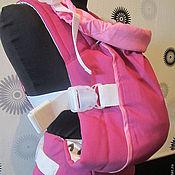 Одежда ручной работы. Ярмарка Мастеров - ручная работа Эргономичный рюкзак для переноски малышей. Handmade.
