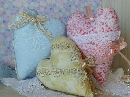 """Подарки для влюбленных ручной работы. Ярмарка Мастеров - ручная работа. Купить """"Сердце"""" - игольница, интерьерное украшение. Handmade. Голубой"""