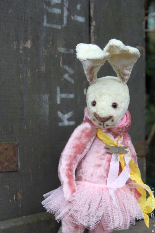 Мишки Тедди ручной работы. Ярмарка Мастеров - ручная работа. Купить Заяц тедди Роузи. Handmade. Лимонный, пачка, фурнитура