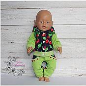 """Одежда для кукол ручной работы. Ярмарка Мастеров - ручная работа Костюм """"Вишенка"""" для куклы Беби Бон.. Handmade."""