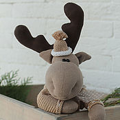 Stuffed Toys handmade. Livemaster - original item Elk Heart. interior toy. Handmade.