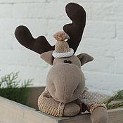 Куклы и игрушки handmade. Livemaster - original item Elk Heart. interior toy. Handmade.