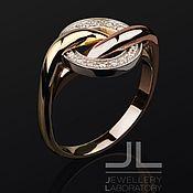 Украшения handmade. Livemaster - original item Eternity ring in gold with diamonds. Handmade.