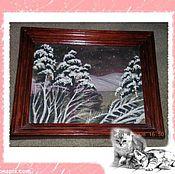 """Картины ручной работы. Ярмарка Мастеров - ручная работа картина""""ветер в ночи"""". Handmade."""