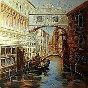 Картины и панно handmade. Livemaster - original item Venice is a living book of fairy tales. Handmade.