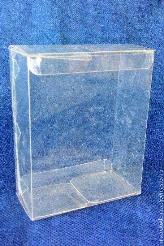 Упаковка ручной работы. Ярмарка Мастеров - ручная работа. Купить Коробка прозрачная  10х12. Handmade. Коробка, коробка пластиковая