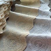Материалы для творчества handmade. Livemaster - original item Cotton lace on Batiste
