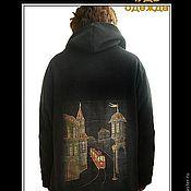 Одежда ручной работы. Ярмарка Мастеров - ручная работа Куртки-толстовки. Handmade.