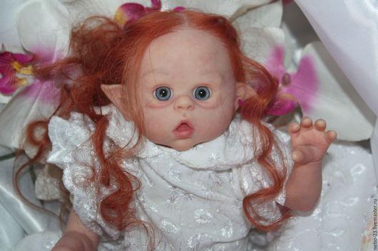 Куклы-младенцы и reborn ручной работы. Ярмарка Мастеров - ручная работа. Купить для Примера. кукла продана. Кукла реборн Эльфик Офелия от Ольги Ауэр. Handmade.