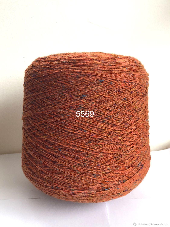 Вязание ручной работы. Ярмарка Мастеров - ручная работа. Купить Soft Donegal Tweed-100 меринос. Handmade. Рыжий, меринос