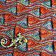 Шарфы и шарфики ручной работы. Ярмарка Мастеров - ручная работа. Купить Снуд Барселона. Handmade. Оранжевый, а-ля миссони