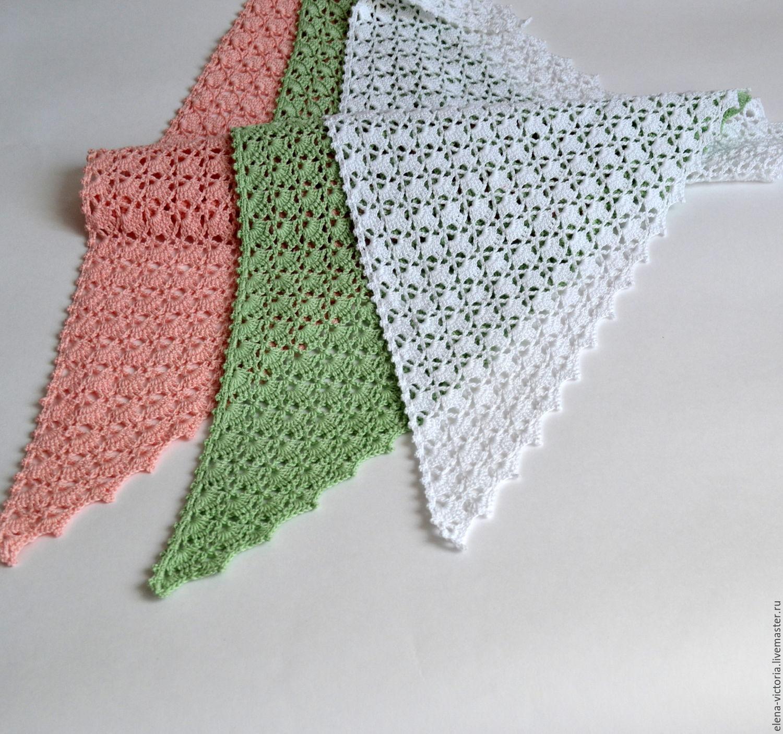 фото с вязание косынок