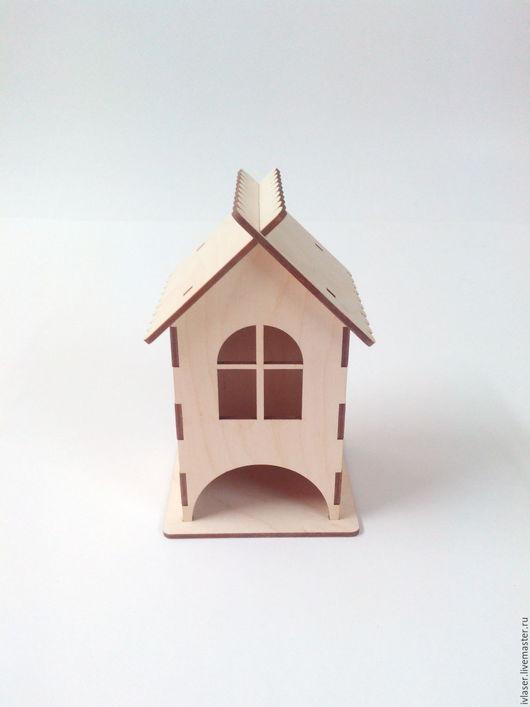 IVL-106-3-135 Чайный домик заготовка для декупажа и росписи