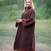 Одежда handmade. Livemaster - original item Alpaka Royal Autumn Coat handmade. Handmade.