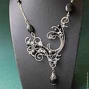 Necklace handmade. Livemaster - original item Necklace Downton Abbey. Handmade.